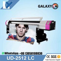 O Galaxy Ud-2512LC 2,5M/8FT DX5 Digital Plotter Impressora de Cabeça para Vinil Adesivo Solvente ecológico máquina impressora Galaxy 2512 impressora/plotter de grande formato