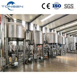 4 Behälter-Brauerei-Geräten-komplette große Handelsbierbrauen-Brauerei des Behälter-5