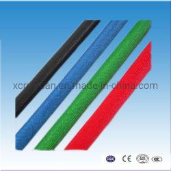 El aislamiento eléctrico 2753 Fibra de vidrio de resina de silicona fundas