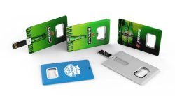 Бутылок форму флэш-накопитель USB Business Card новые Design-Cc18