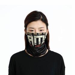 マスクとして身に着けているポリエステル方法印刷のスカーフから成っているLycraの熱い販売のスカーフは最もよく値を付ける