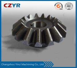 China Made Professional Customized Kegelrad Carbon Steel Forging Gear Für Autoteile