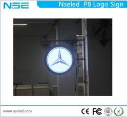 Speicher-Firmenzeichen-Zeichen Digital-LED