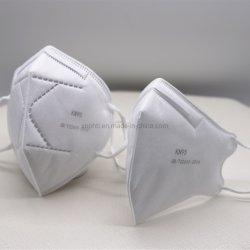 Großhandelsart gefaltete Gesichtsschablone der 4/5/6 Falte-hohe Filtration-Kn95 Ffp2 N95 mit Respirator-Ventil, Antivirus 3 Schicht-medizinische chirurgische Wegwerfgesichtsmasken