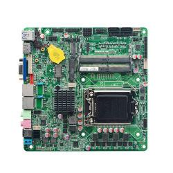 Корпорация Intel 8 ультратонких все в одном из основной платы H310 I3, I5, I7 SATA 3.0 2 LAN-ITX на базе системной платы