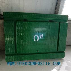 La resistencia al fuego Fh1 grado de hoja de SMC para el cuadro de contadores eléctricos