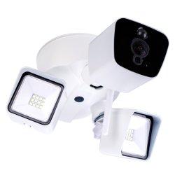 1080P WiFi 270угол светодиодный индикатор IP-камера пассивные инфракрасные детекторы движения APP сигнал тревоги в режиме реального времени пульт дистанционного управления безопасности камера ночного видения цветной водонепроницаемая камера освещения