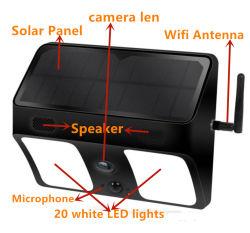 Macchina fotografica nascosta WiFi chiara dell'allarme 1080P di Dection APP di movimento del LED PIR
