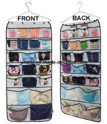 Двух сторон висящих мешок для хранения всякой всячиной органайзера для украшения нижнее белье