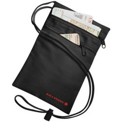 주문 승진 폴리에스테 지퍼 기장 목 지갑