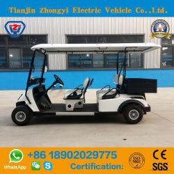 Klassiker 4 Seater elektrische Golf-Karre mit hinterem Ladung-Kasten
