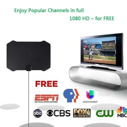 Canais digitais DVB-T antena HDTV antena DVBT Freeview 28dBi antenas Booster de antena de TV interior