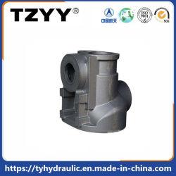 moldeado en arena para el cuerpo de válvula hidráulica con gris/hierro dúctil
