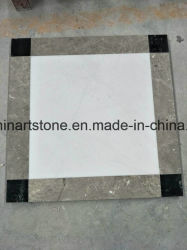 Blanc carreaux de marbre blanc de neige de Jade pour plancher commercial
