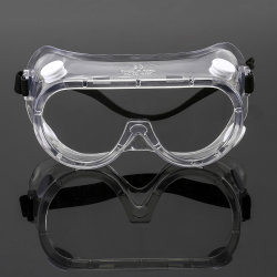 China-Hersteller-Antinebel-Augenschutz-medizinische chirurgische Produktsicherheits-Glas-Schutzbrillen für Krankenhaus-Gebrauch