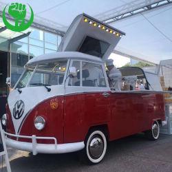 새로운 도착 VW T2 음식 트럭 판매를 위한 전기 이동할 수 있는 간이 식품 트럭 식사 버스