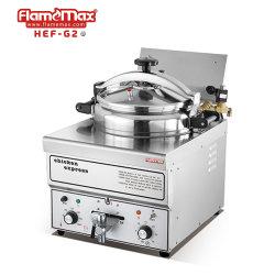 Kommerzielles industrielles Schnellimbiss-Huhn-elektrische Gasdruck-tiefe Bratpfanne