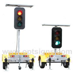 Productos de seguridad vial de la Energía Solar Iniciar Sesión de Control de Tráfico de la luz de la señal LED verde
