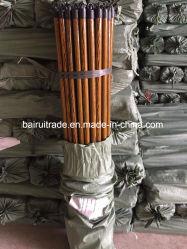 Manche à balai de poignée de bois pour le balai de la Chine