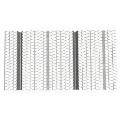 Оцинкованный 0,3 мм расширить ребра металл / реек для строительных материалов