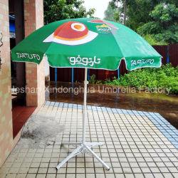 Рекламные материалы для использования вне помещений Sun солнечным зонтом из расчета на пляже зонтик с логотипом печать (BU-0040C)