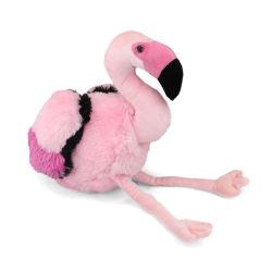 30cm recheadas de pelúcia rosa flamingo Animal brinquedo macio