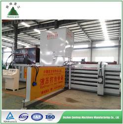 Presse hydraulique horizontale Vêtements Carboard Presse à balles de déchets de papier