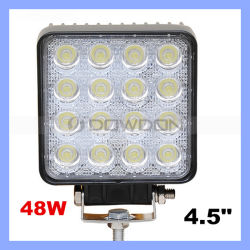 "4.5 "" 48W LED Work Light für Indicators Motorcycle Driving Offroad Boat Car Tractor Truck 4X4 SUV ATV Flood 12V 24V Working Lamp"
