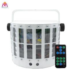Бабочка светодиодный лазер оформление DMX512 Диско лампы освещения
