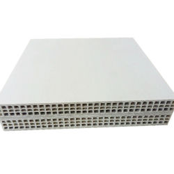 Полых пластмассовых шаблон в бетона сооружением опалубки