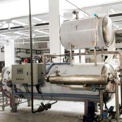 De industriële Hoge druk Ingeblikte Autoclaaf van de Stoom van het Voedsel
