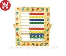 XL10050 niños de educación matemática de madera juguete Juguetes aprender matemáticas Profesor Abacus Toy