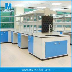 Laboratoire de langue étudiant banc de travail de laboratoire en acier