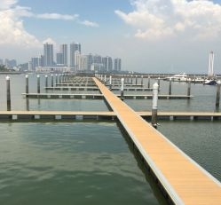 마린 다리: 해양 수상 폰툰을 위한 알루미늄 메인 다리