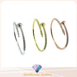2016 Style simple de bijoux en gros 925 Silver Bangle (G41283)