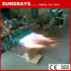 Forno de convecção de ar de melhor qualidade de gás do queimador de ar