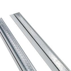 Système de profil en acier galvanisé en métal la formation de tartre le canal de l'étain plafond suspendu