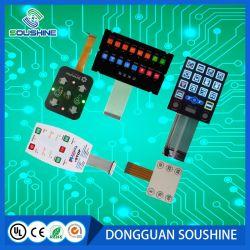 Clavier en silicone personnalisé interrupteur à membrane de commande à distance
