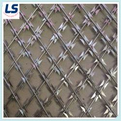高品質 Razor ワイヤ溶接ワイヤメッシュ 75X150mm