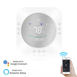 il termostato astuto della pompa termica di 24V 3h2c WiFi per vita astuta del regolatore di temperatura/Tuya APP funziona con la casa di Alexa Google
