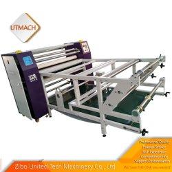 Het Broodje van de sublimatie om het Verwarmen van de Rol van het Document van de Overdracht van de Machine van de Pers van de Hitte de Doek Widness 2000mm te rollen van de Machine Printer met de Rol van 220mm kan worden aangepast