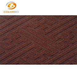 Embossd de fibres discontinues de polyester à la ligne de production
