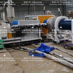 Riga ondulata doppia fabbricazione Qingdao dell'espulsione del rivestimento del tubo dell'HDPE di plastica di Hc Greesense