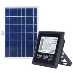 옥외 25/40/60/100/200/300W LED 태양 플러드 빛 IP68 에너지 절약 훈장 전원 시스템 홈 정착물 휴대용 옥외 벽 정원 가로등