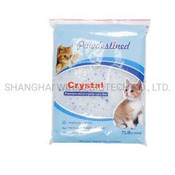 La fragancia de 6mm de gel de sílice química de la arena de gato de cristal