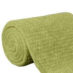 Manta de lana mineral de aislamiento térmico sobre la construcción de una manta