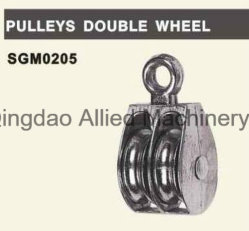 De aço inoxidável 316 304 das polias de roda dupla