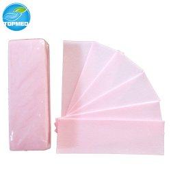 شرائح ملونة يمكن التخلص منها بقياس 7*20 سم قابلة للقص لإزالة الشعر لإزالة الشعر، وتغطيها