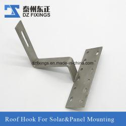 태양 전지판 설치를 위한 스테인리스 Steel304 지붕 훅