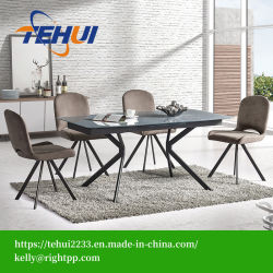 Patio moderno hotel de ocio Oficina Muebles de Comedor Mesa extensible